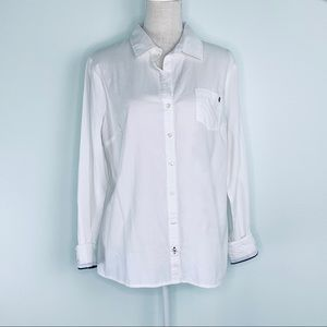 NWT Tommy Hilfiger White Button Down Sz XL